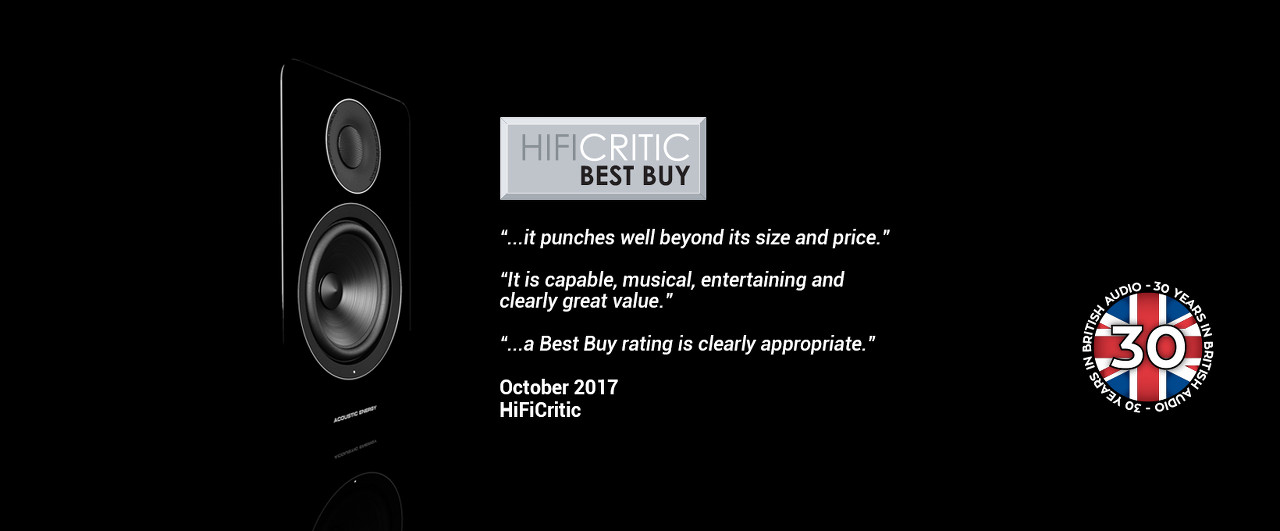 Acoustic Energy АЕ1 Active - BEST BUY от Hi-Fi Critic