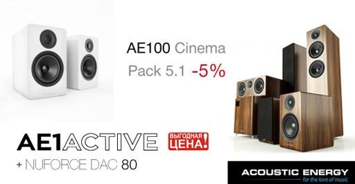 Acoustic Energy АЕ 100 5.1