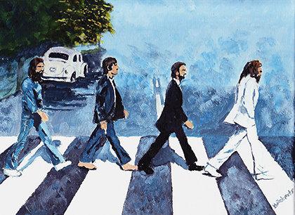 Внешний вид кабелей Studio Connections — намёк на знаменитую «зебру» через Abbey Road